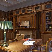 Дизайн и реклама handmade. Livemaster - original item The interior design of the luxury class.Cabinet, wooden furniture, design. Handmade.