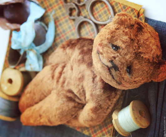 Мишки Тедди ручной работы. Ярмарка Мастеров - ручная работа. Купить Алеша. авторский мишка тедди ручной работы. Handmade.