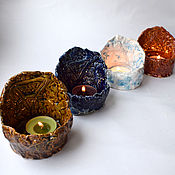 Для дома и интерьера handmade. Livemaster - original item Elements - set of candle holders. Handmade.