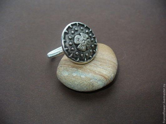 """Кольца ручной работы. Ярмарка Мастеров - ручная работа. Купить Кольцо """"Немного шипов"""". Handmade. Серебряный, кольцо из проволоки"""