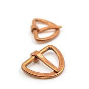 Материалы для творчества handmade. Livemaster - original item Buckles copper