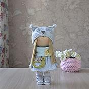 Куклы и игрушки ручной работы. Ярмарка Мастеров - ручная работа Текстильная куколка.. Handmade.