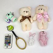 Материалы для творчества handmade. Livemaster - original item Accessories for dolls and toys: Set of accessories for dolls NA-03. Handmade.