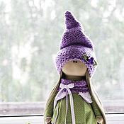 Куклы и игрушки ручной работы. Ярмарка Мастеров - ручная работа Девочка Черничка. Handmade.