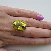 Материалы для творчества handmade. Livemaster - original item Natural quartz. Green gold 30.88 Carat.. Handmade.