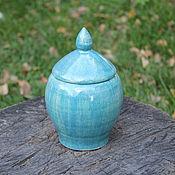 Для дома и интерьера ручной работы. Ярмарка Мастеров - ручная работа Баночка керамическая. Handmade.