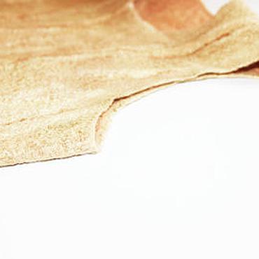 Одежда ручной работы. Ярмарка Мастеров - ручная работа Топик шелковый нунофелтинг золотой. Handmade.