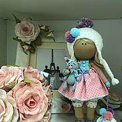 Куклы и игрушки ручной работы. Ярмарка Мастеров - ручная работа Интерьерная текстильная кукла Забава. Handmade.