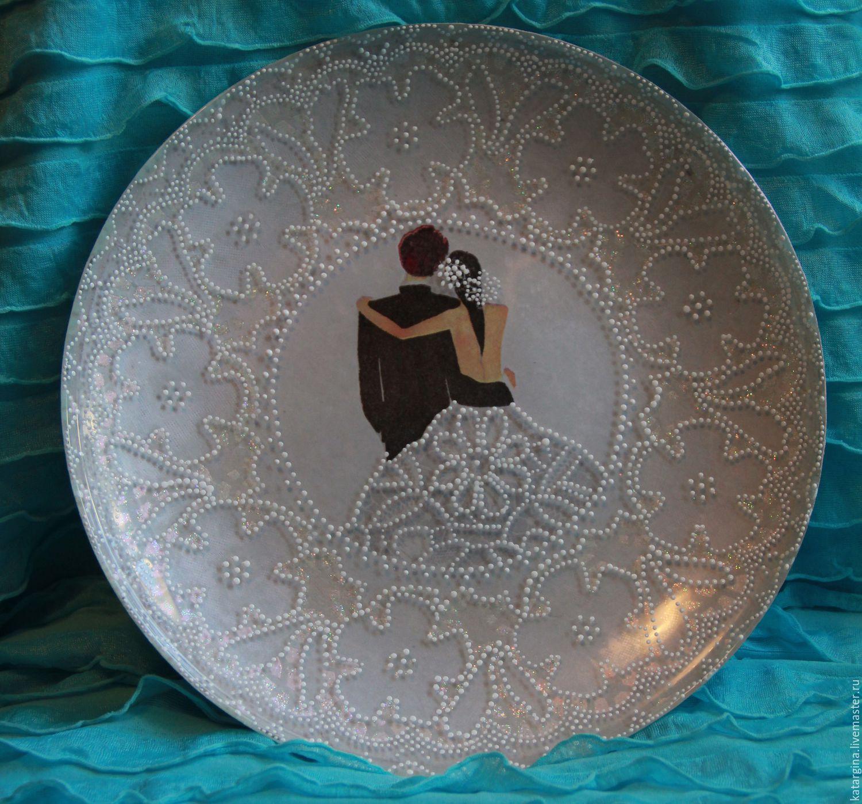 Подарочные тарелки своими руками