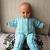 Работы для детей, handmade. Livemaster - original item knitted Romper for baby girl. Handmade.