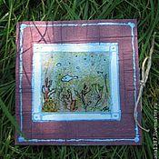 """Открытки ручной работы. Ярмарка Мастеров - ручная работа авторская открытка  """"Рыбка"""". Handmade."""
