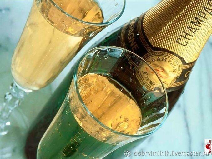 Отдушка Ванильное шампанское для мыла, свечей, бомбочек (США), Ароматизаторы, Москва,  Фото №1
