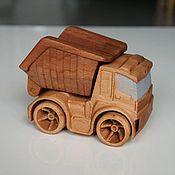 Техника, роботы, транспорт ручной работы. Ярмарка Мастеров - ручная работа Машинка из дерева. Самосвал.. Handmade.