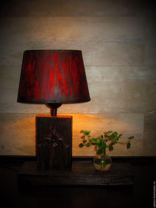 """Освещение ручной работы. Ярмарка Мастеров - ручная работа. Купить Светильник  """"  Брут """". Handmade. Комбинированный, свет, доска"""