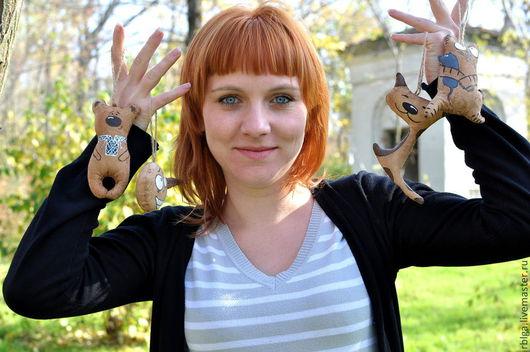 """Ароматизированная игрушка ручной работы. Пряничные игрушки. Юлия. """"Мой Волшебный Мир"""""""