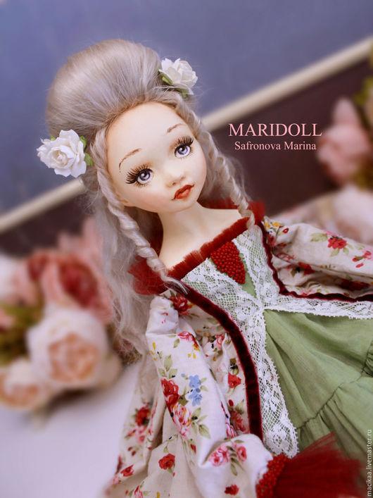 Коллекционные куклы ручной работы. Ярмарка Мастеров - ручная работа. Купить Шарлотта подвижная кукла. Handmade. Подарок девушке