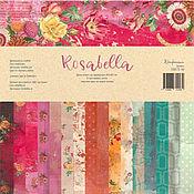 "Бумага ручной работы. Ярмарка Мастеров - ручная работа Бумага: ""Rosabella"". Handmade."