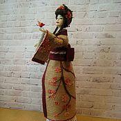 Шпагатная кукла-шкатулка