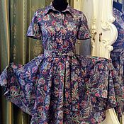 Одежда ручной работы. Ярмарка Мастеров - ручная работа Платье розы.. Handmade.