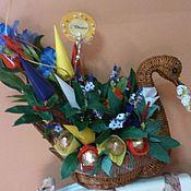 Цветы и флористика ручной работы. Ярмарка Мастеров - ручная работа Птица дивная. Handmade.