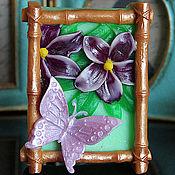 """Косметика ручной работы. Ярмарка Мастеров - ручная работа Мыло """"Весенняя бабочка"""". Handmade."""