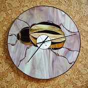 Для дома и интерьера ручной работы. Ярмарка Мастеров - ручная работа Часы ЖУК 2. Handmade.