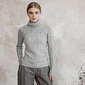 Одежда handmade. Livemaster - original item Women`s cashmere sweater. Handmade.