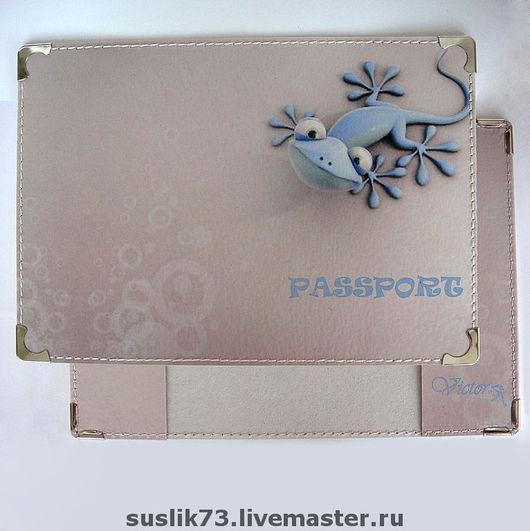 """Обложки ручной работы. Ярмарка Мастеров - ручная работа. Купить обложка для паспорта """"Чапчерица"""". Handmade. Подарок, обложка на паспорт, разноцветный"""