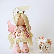 Куклы и игрушки ручной работы. Ярмарка Мастеров - ручная работа Персиковая весна. Handmade.