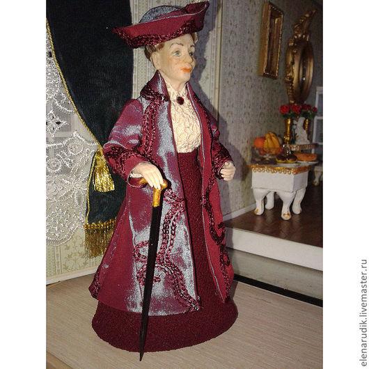 Портретные куклы ручной работы. Ярмарка Мастеров - ручная работа. Купить Кузина Вайолет. Handmade. Авторская кукла, портретная кукла