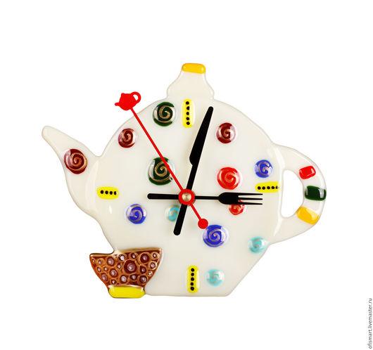 """Часы для дома ручной работы. Ярмарка Мастеров - ручная работа. Купить Часы настенные """"Приглашение на чай"""". Handmade. Комбинированный, часы"""