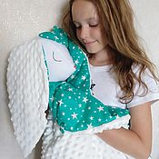 Работы для детей, handmade. Livemaster - original item Blankets for children: a toy-a blanket. Handmade.