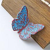 """Украшения ручной работы. Ярмарка Мастеров - ручная работа """"Butterfly""""  брошь. Handmade."""
