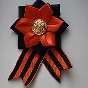 Украшения handmade. Livemaster - original item Brooch of St. George on may 9. Handmade.