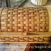 Для дома и интерьера ручной работы. Ярмарка Мастеров - ручная работа Хлебница (или просто большая шкатулка). Handmade.