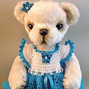 Куклы и игрушки handmade. Livemaster - original item Teddy bear Alice-turquoise cloud. Handmade.