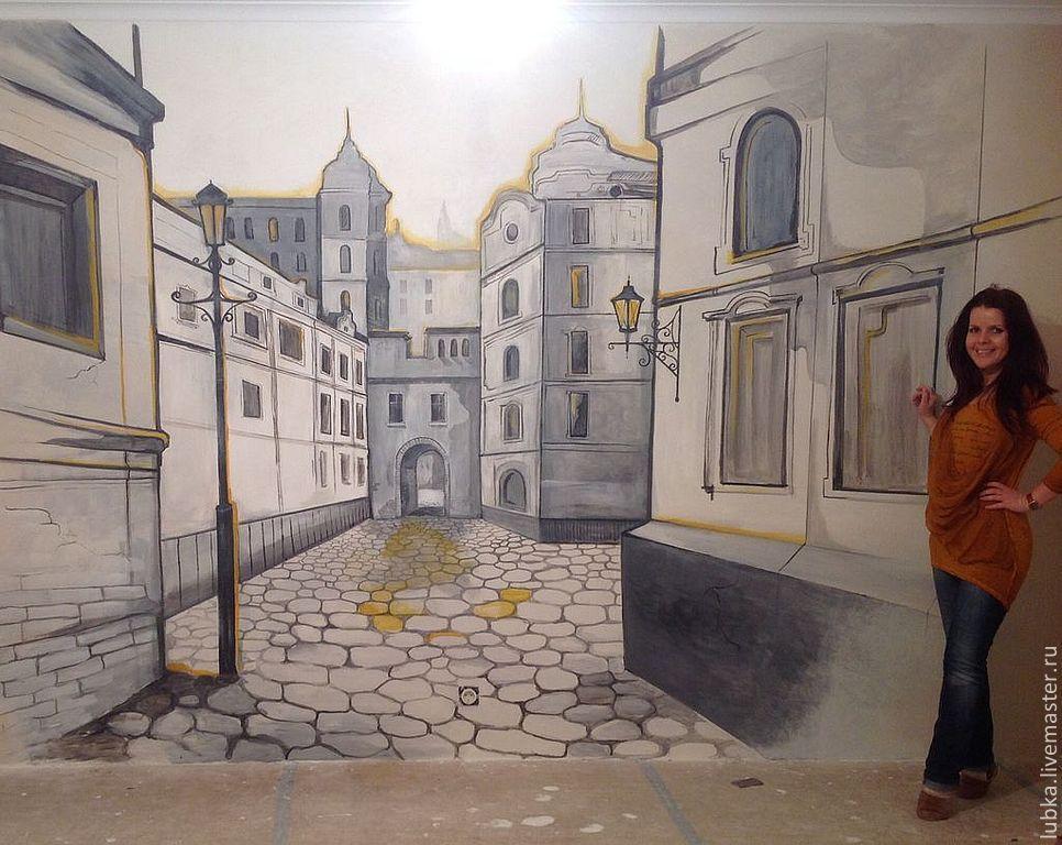 Рисуем на стенах города