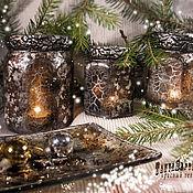 Для дома и интерьера handmade. Livemaster - original item Candlesticks, retro OLD SILVER (set of 4 items). Handmade.