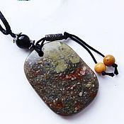 Фен-шуй и эзотерика handmade. Livemaster - original item Pendant - amulet with Jasper wanderer. Handmade.