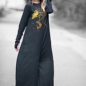 Одежда handmade. Livemaster - original item Stylish, women`s jumpsuit for summer - JP0362CV. Handmade.