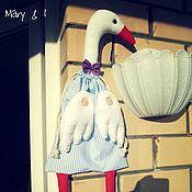 Куклы и игрушки ручной работы. Ярмарка Мастеров - ручная работа Гусь-пакетница. Handmade.