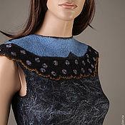 """Одежда ручной работы. Ярмарка Мастеров - ручная работа Платье ручной работы """"blueberry flower"""". Handmade."""