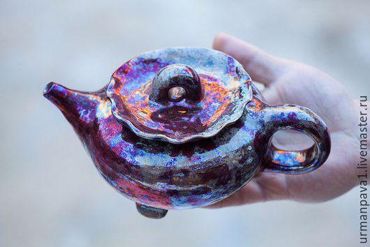 Чайники, кофейники ручной работы. Ярмарка Мастеров - ручная работа. Купить Чайник единственный. Handmade. Бордовый, чай, чаепитие