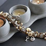 Украшения ручной работы. Ярмарка Мастеров - ручная работа серебряный браслет с птицами. Handmade.