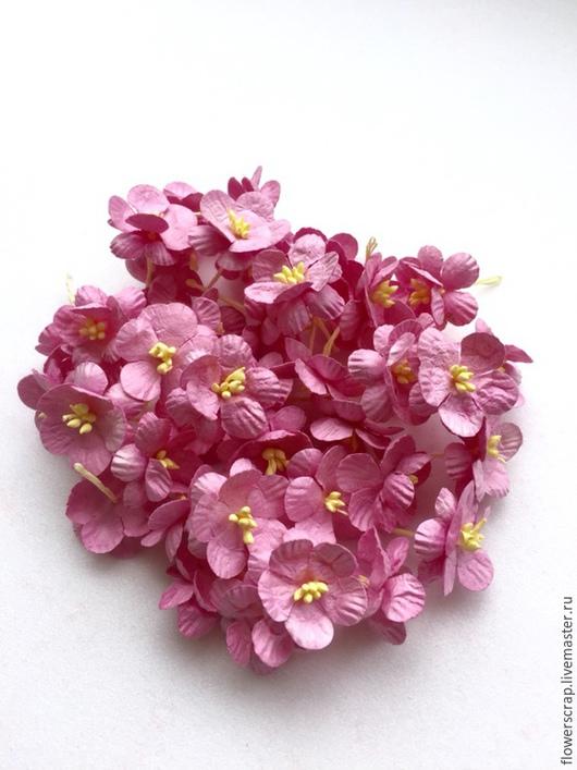 Цветы вишни, 30мм., 1уп.(50шт.) - 380р.