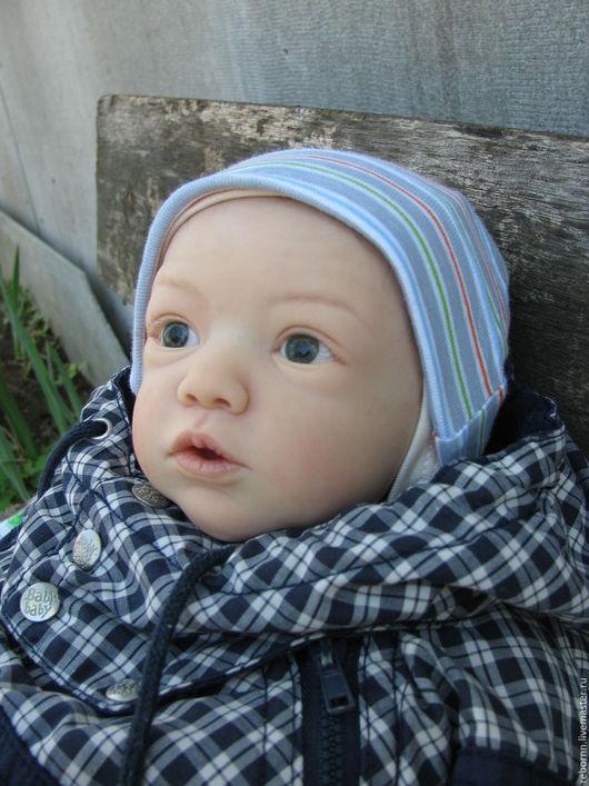 Куклы-младенцы и reborn ручной работы. Ярмарка Мастеров - ручная работа. Купить Кукла реборн Майки. Handmade. Бежевый