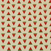 Материалы для творчества ручной работы. Ярмарка Мастеров - ручная работа Ткань Хлопок Сатин Саржа Китай Арбузики. Handmade.