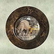 """Картины и панно ручной работы. Ярмарка Мастеров - ручная работа Тарелка """"Икона стиля"""". Handmade."""