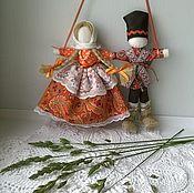 Куклы и игрушки ручной работы. Ярмарка Мастеров - ручная работа Неразлучники свадебная кукла. Handmade.