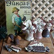 Подарки к праздникам ручной работы. Ярмарка Мастеров - ручная работа -15% Три шоколада - елочные игрушки. Handmade.